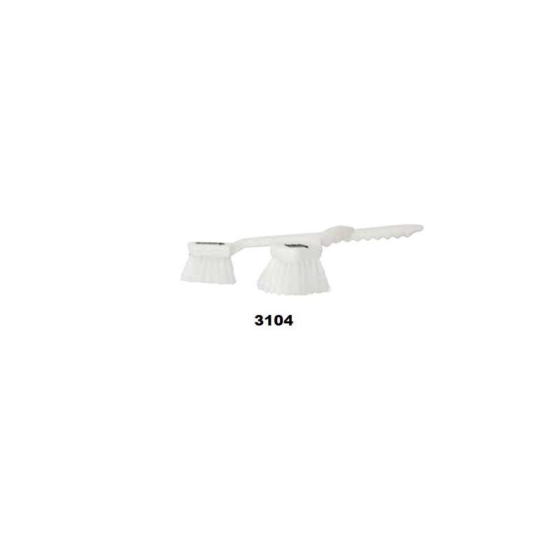 Escobeta Multiusos 3104 El castor 8 1/2 pulgadas blanca  Incluye IVA