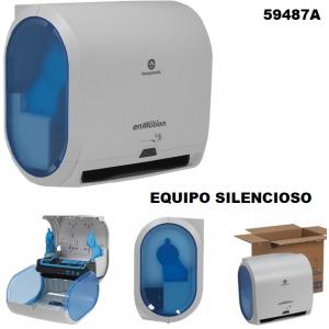 Despachador toalla en Rollo Automatico Gris toque azul 59487A IVA INCLUIDO GP