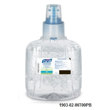 Purell Advance  Green Certified Instant Hand Sanitizer  LTX 1200 ML IVA Incluido
